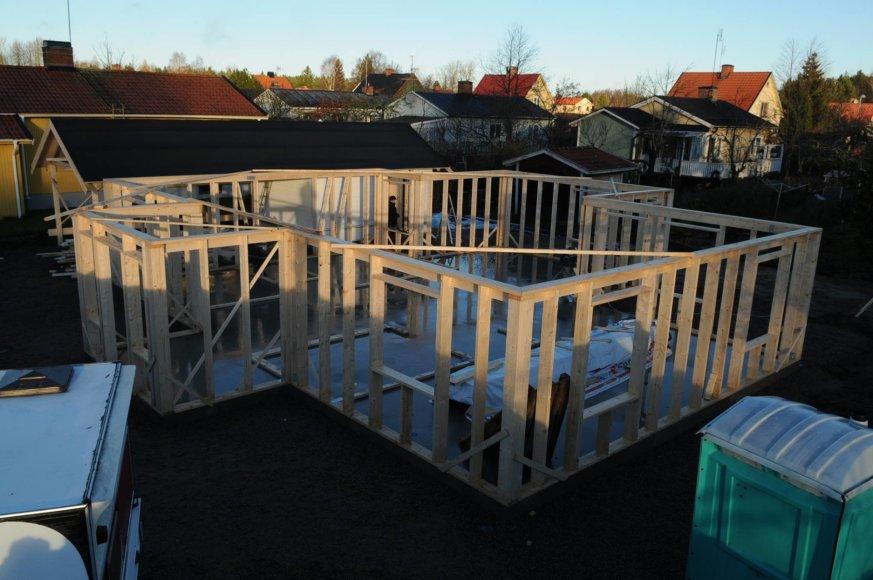 Švedijoje dirbančio Arvido nuotr./Švedijoje statybos sektoriuje dirbantys lietuviai dažnai atsiduria teisme