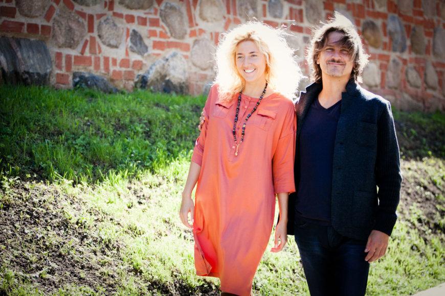 Asmeninio archyvo nuotr./Mokytojai Rimvydas Židžiūnas ir Andrė Amiya Pabarčiūtė.