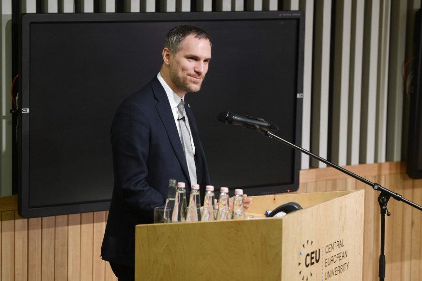 """AFP/""""Scanpix"""" nuotr./Prahos meras Zdenekas Hribas"""