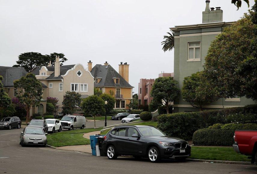 "AFP/""Scanpix"" nuotr./""Presidio Terrace"" gatvė San Fransiske"