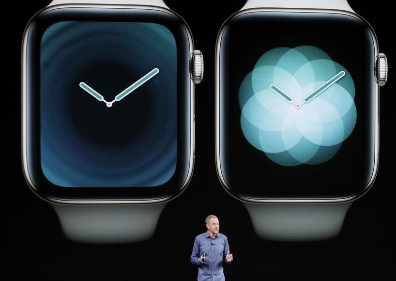 """Scanpix""/AP nuotr./Apple Watch Series 4"
