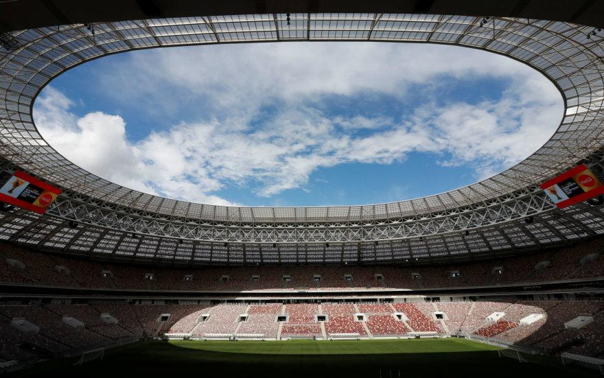 Kitas pasaulio futbolo čempionatas  2018 m. vyks Rusijoje, finalas – šiame Maskvos stadione.