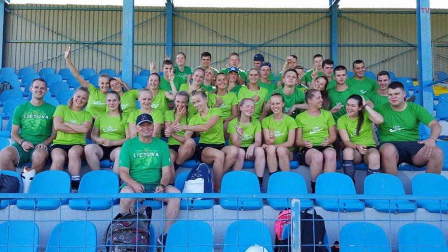 Lietuvos žolės riedulio komandos žaidžia Europos 3-iajame divizione.