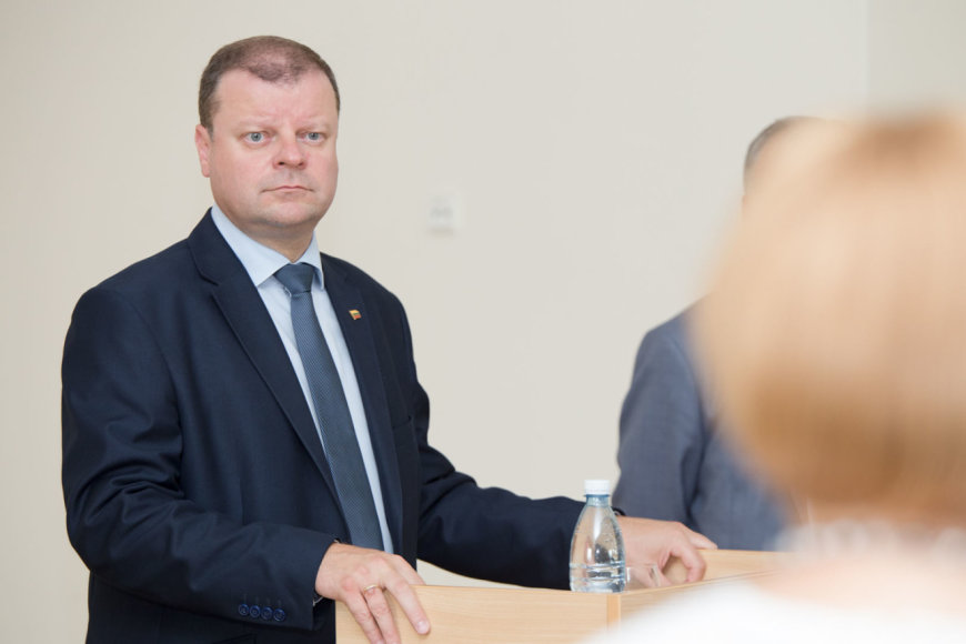 LRVK/ Dariaus Janučio nuotr./Saulius Skvernelis