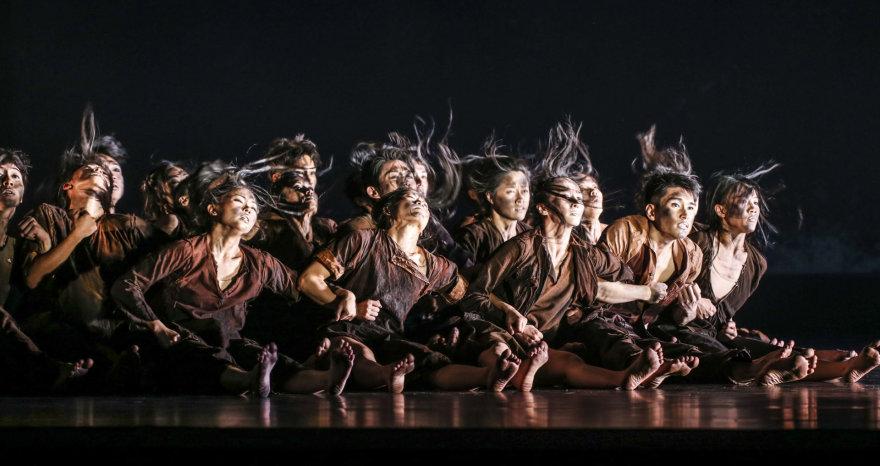 """Liu Chen-hsiang nuotr./""""Cloud Gate"""" šokio teatro spektaklis """"Dulkė"""""""