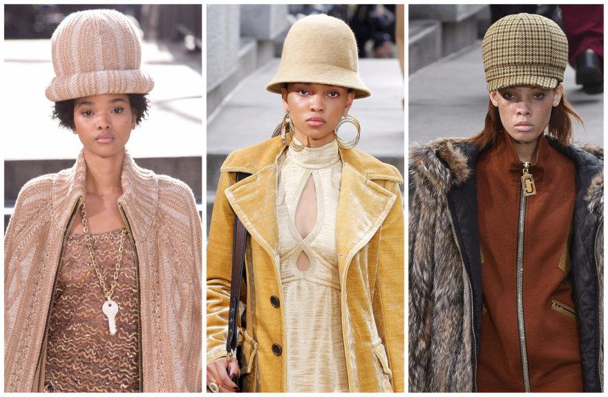 """Vida Press nuotr./""""Marc Jacobs"""" 2017–2018 m. rudens ir žiemos kolekcijos modeliai"""