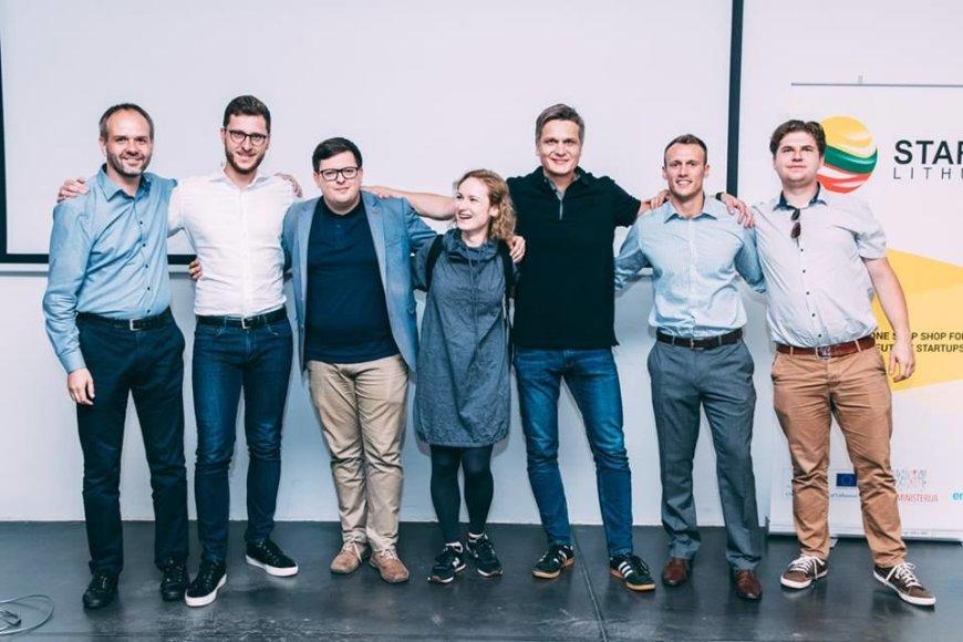 """Startup Lithuania"" nuotr./""Startup Lithuania Roadshow"" dalyviai"
