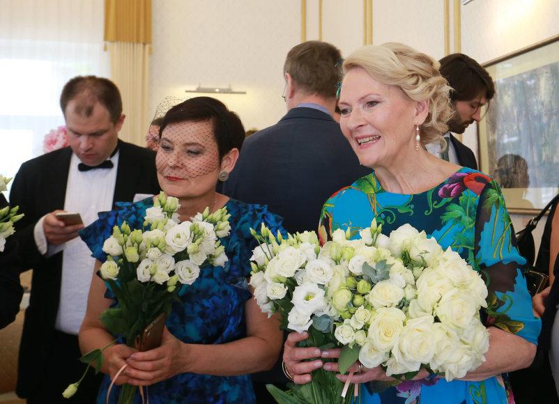 Aliaus Koroliovo/15min nuotr./Karolina Masiulytė-Paliulienė (dešinėje)