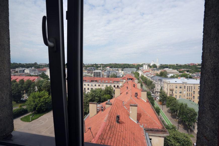 Aliaus Koroliovo/15min nuotr./Vaizdas pro Ritos buto langą