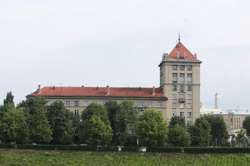 Aliaus Koroliovo/15min nuotr./Namas S. Daukanto g. 1