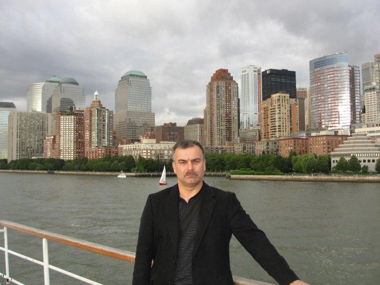 Projekto partnerio nuotr./Ūkininkas Juozas Krištopaitis