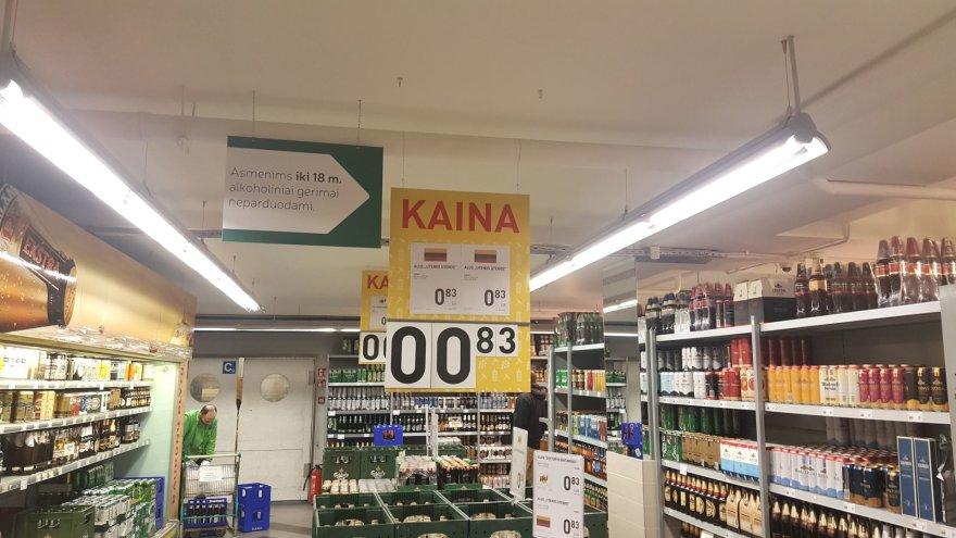 15min nuotr./Prekybininkų gudravimai parduodant alkoholį