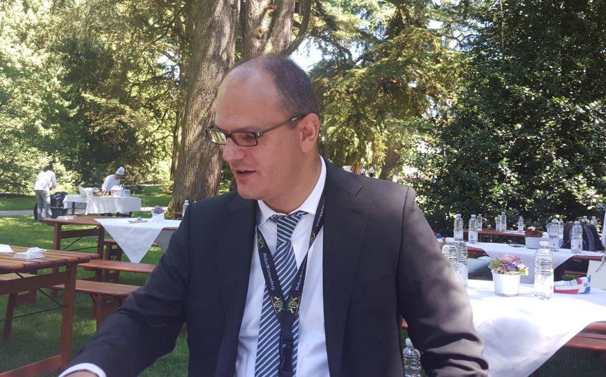 15min nuotr./Badeno-Viurtembergo žemės mokslo, tyrimų ir meno ministerijos sekretorius Ulrichas Steinbachas