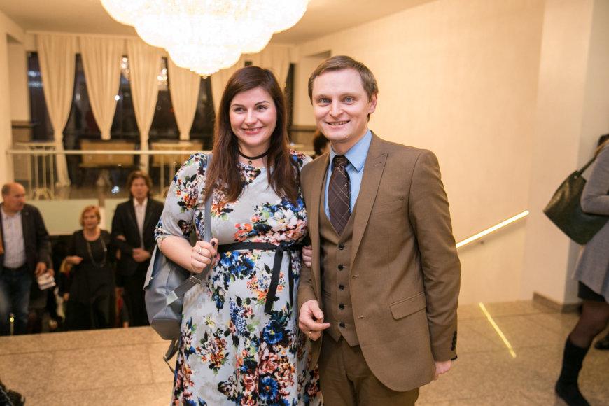 Žygimanto Gedvilos / 15min nuotr./Liudas Mikalauskas su žmona