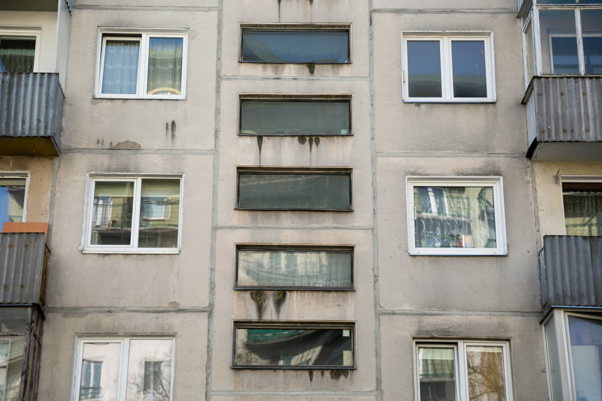 Žygimanto Gedvilos / 15min nuotr./Daugiabutis namas S.Konarskio gatvėje Vilniuje