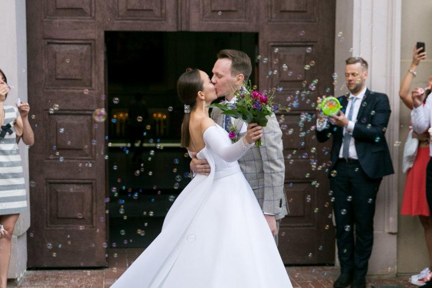 Žygimanto Gedvilos / 15min nuotr./Povilo Račo ir Ievos Čepononytės vestuvių akimirka