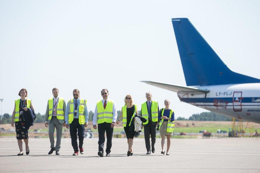 Žygimanto Gedvilos / 15min nuotr./Spaudos konferencija Vilniaus oro uoste