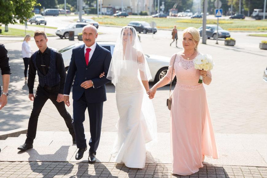 Žygimanto Gedvilos / 15min nuotr./Aleksandro Kazakevičiaus ir Gretos Lebedevos vestuvės