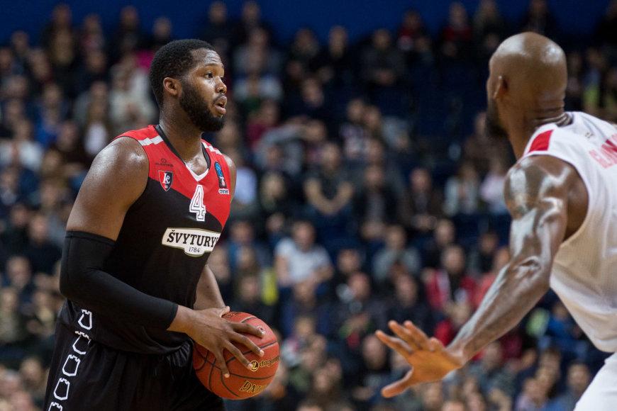 """Žygimanto Gedvilos / 15min nuotr./EuroCup startas: """"Lietuvos rytas"""" - """"Basket"""""""