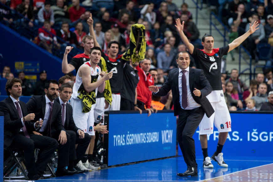 """Žygimanto Gedvilos / 15min nuotr./EuroCup startas: """"Lietuvos rytas"""" – """"Basket"""""""