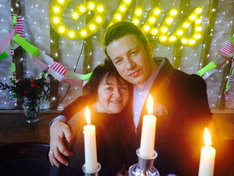 Asmeninio albumo nuotr./Dalia Ibelhauptaitė ir Jamie Oliveris