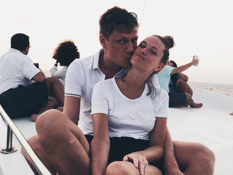 Asmeninio albumo nuotr./Nora Sudarytė ir Marius Žaliūkas
