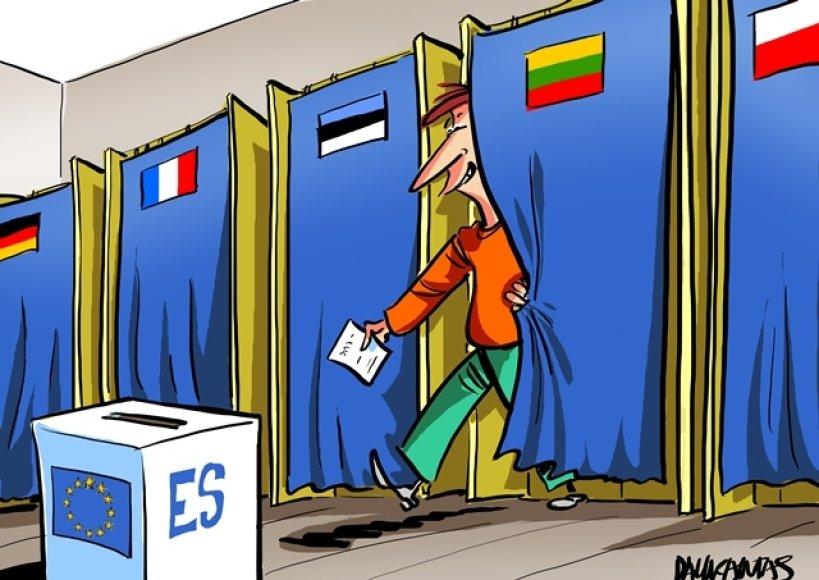 Karikatūros autorius Rytis Daukantas