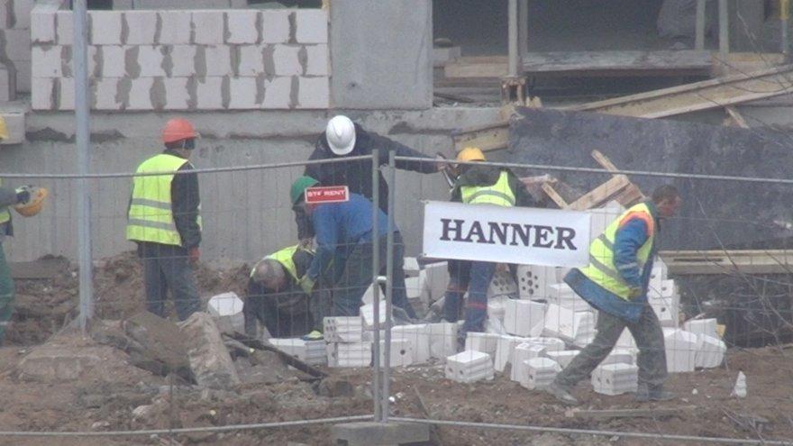 Nelaimė statybų aikštelėje