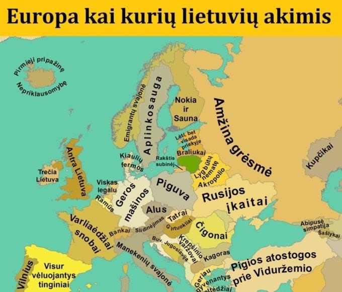 Europa lietuvio akimis