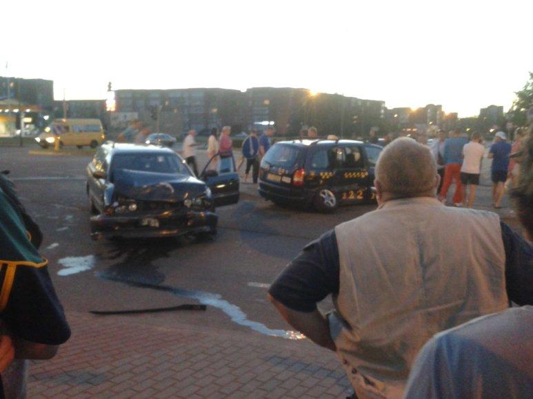 Taksi avarija