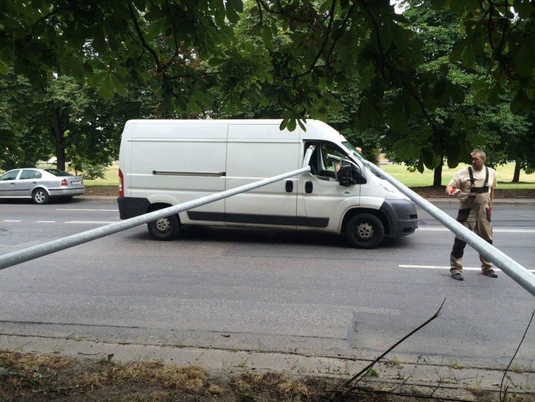 Avarija Goštauto gatvėje, Vilniuje