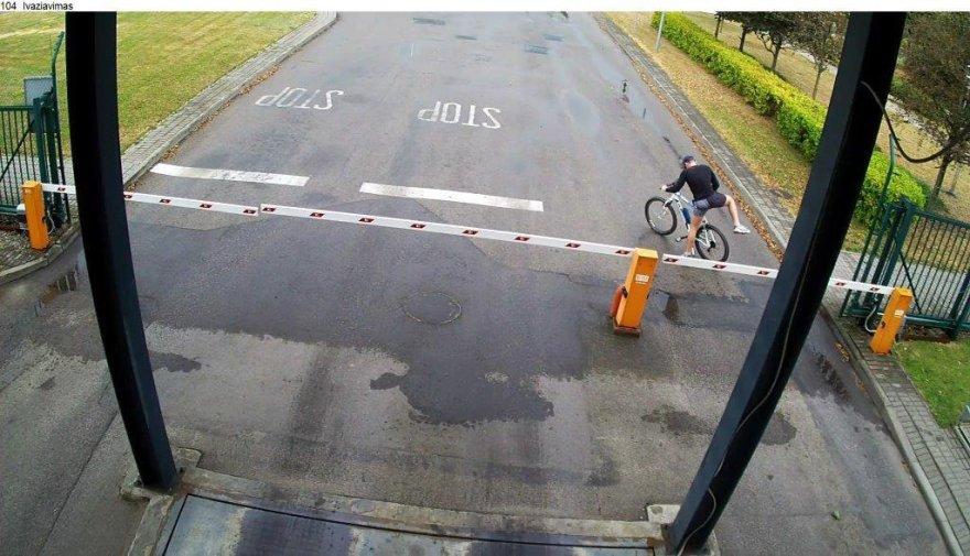 Taip pavogtas dviratis