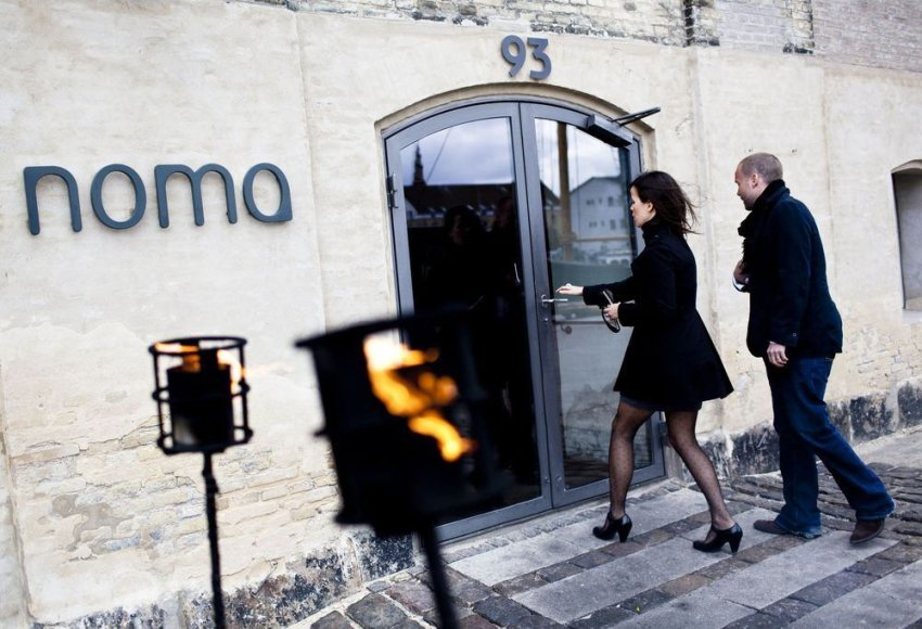 """Noma"" restoranas Kopenhagoje"
