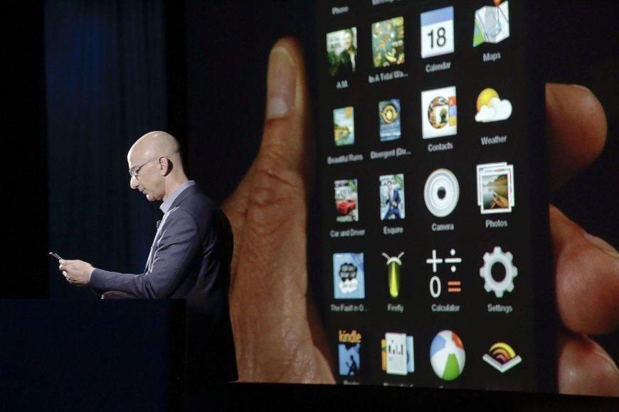 """""""Amazon"""" pristatė naują įrenginį"""