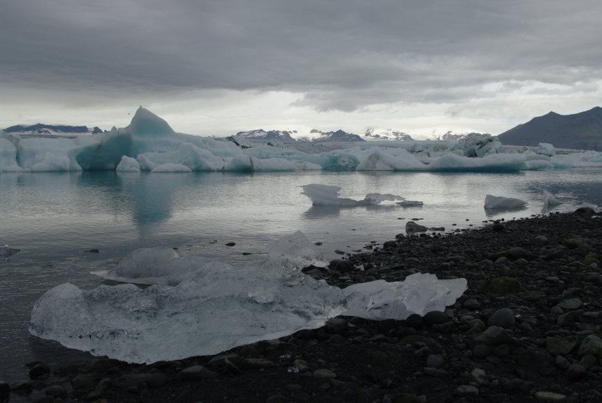 Islandija užburia savo gamta.