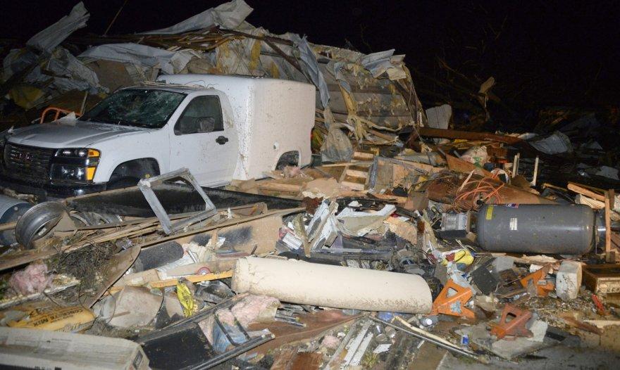 Tornado padariniai Arkanzaso valstijoje