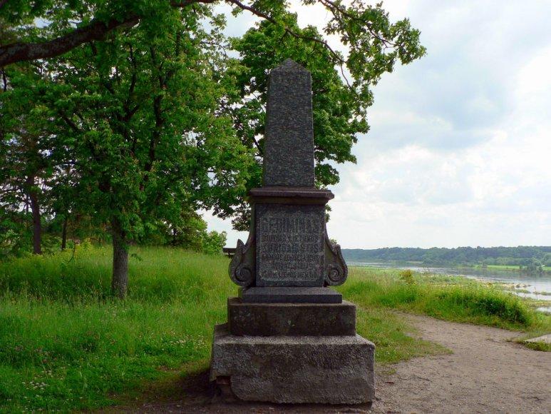 Gedimino kapas Veliuonoje