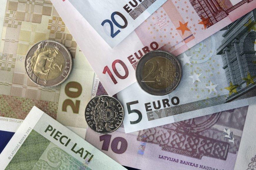 Latai ir eurai