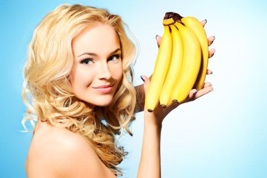 Grožį galima puoselėti ir bananais
