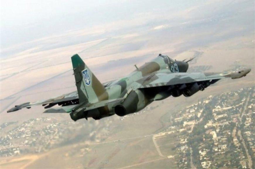 Ukrainos karinis lėktuvas