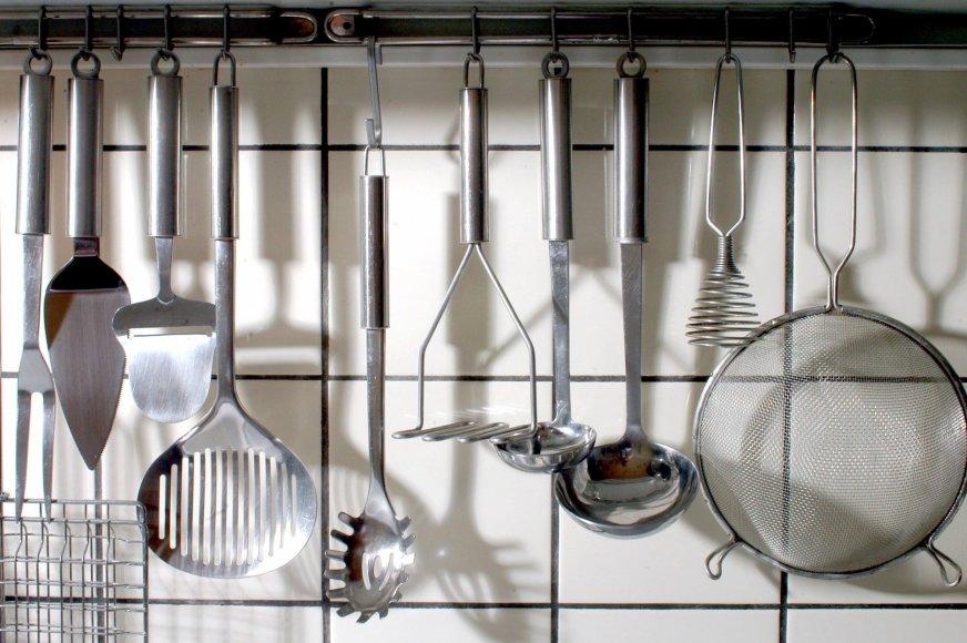 Vida Press nuotr./Virtuvės įrankiai