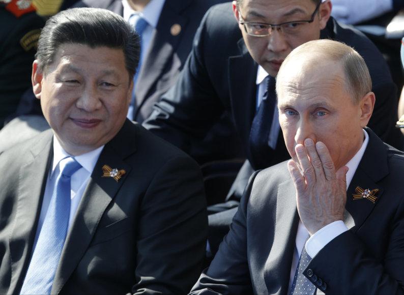 Kinijos ir Rusijos prezidentai
