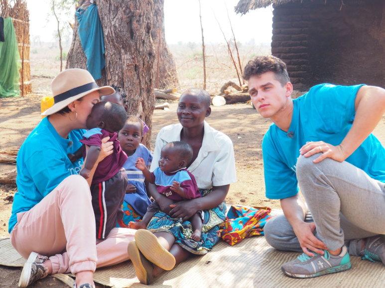 UNICEF nuotr./UNICEF misijos Malavyje akimirka