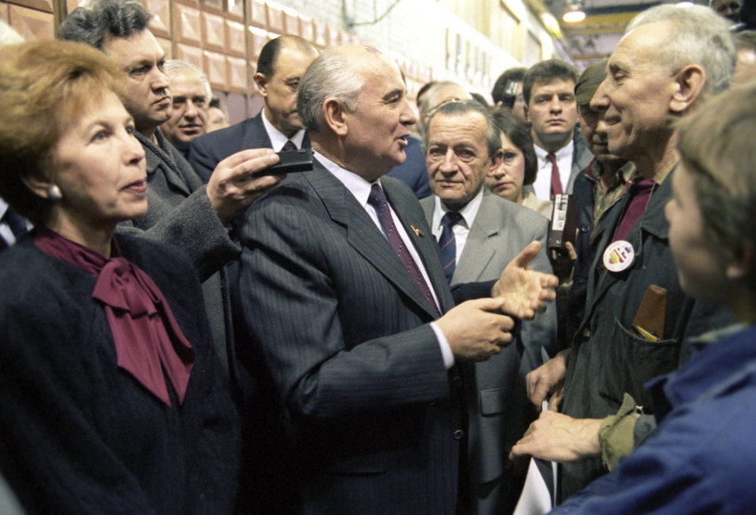 Michailas Gorbačiovas Lietuvoje