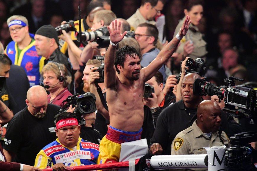 Floydas Mayweatheris prieš Manny Pacquiao