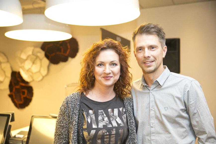 Asta Stašaitytė-Masalskienė su vyru Giedriumi