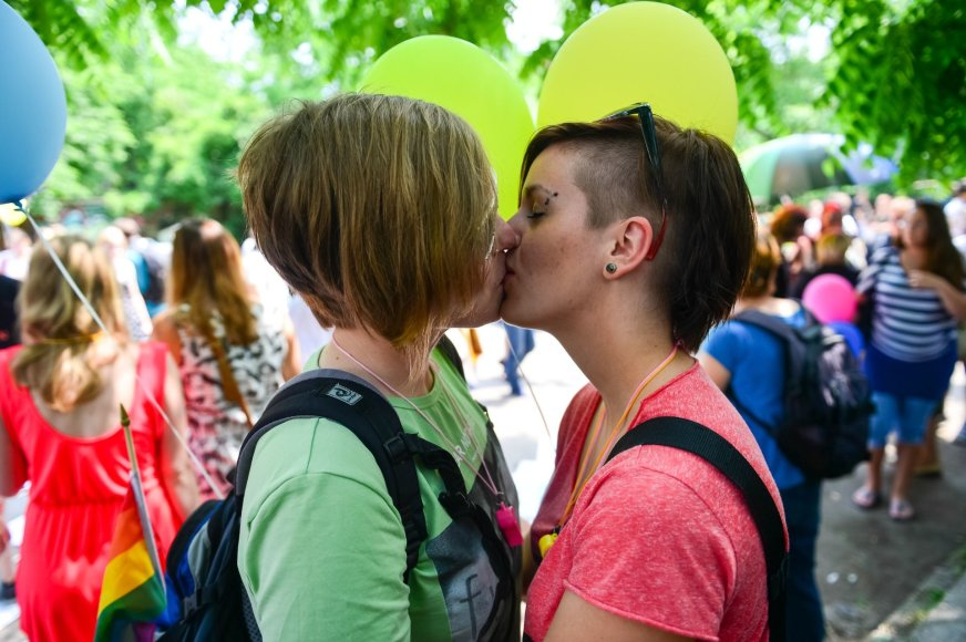 """""""Gay Pride"""" Slovėnijoje"""