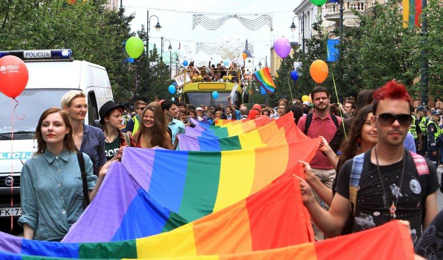 """""""Baltic Pride"""" eitynės Vilniuje 2016 metais"""