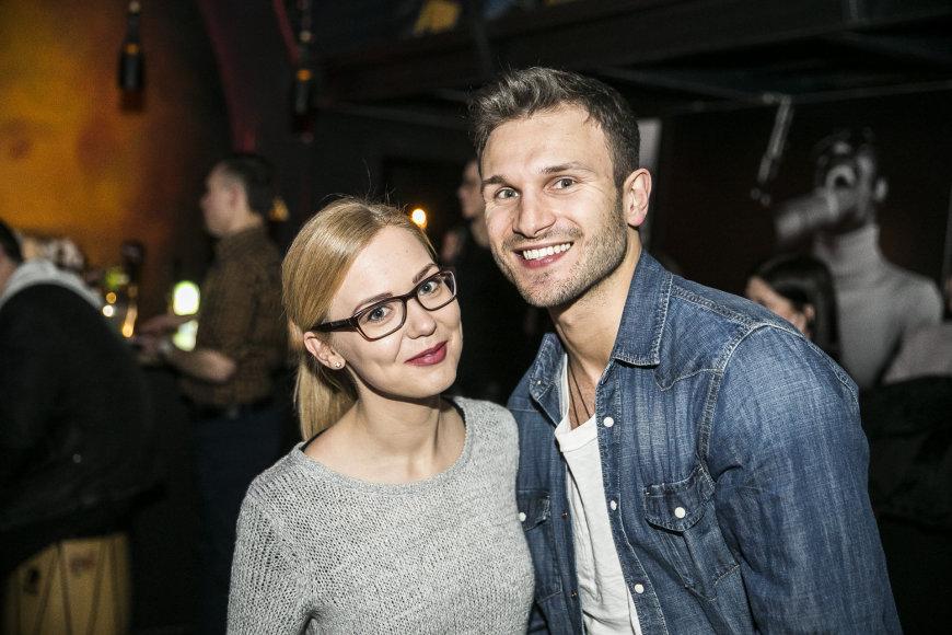 Monika Linkytė ir Vaidas Baumila