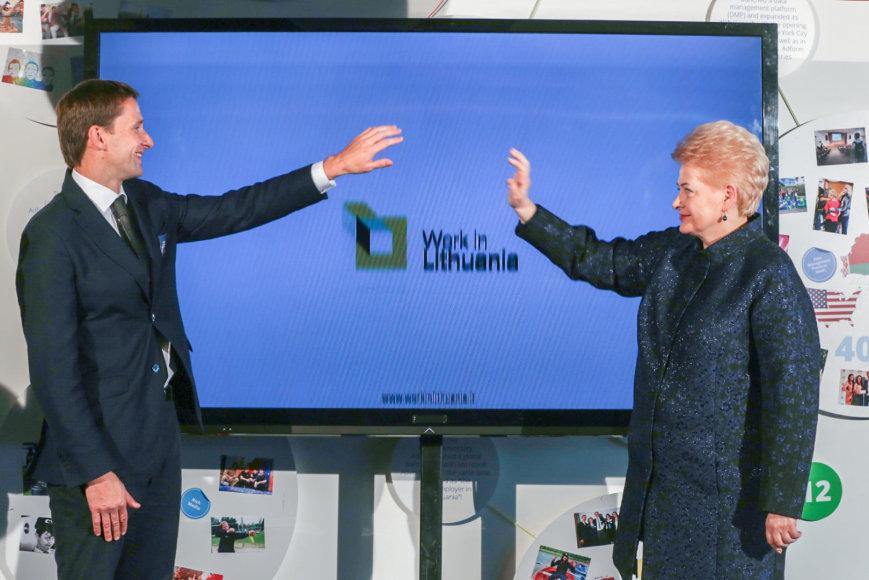 Mantas Katinas ir Dalia Grybauskaitė